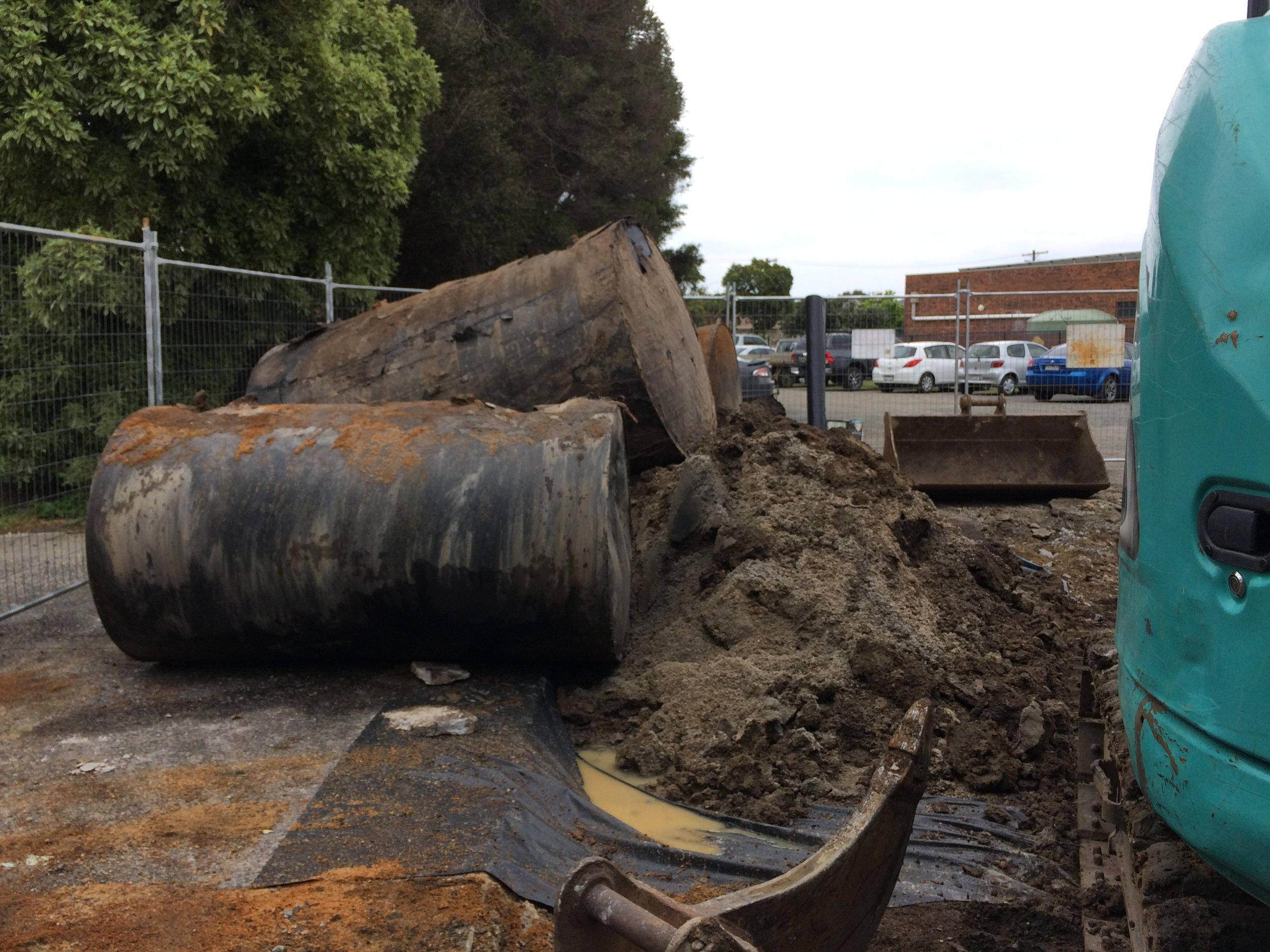 UPSS removal for Cardinia Shire Council
