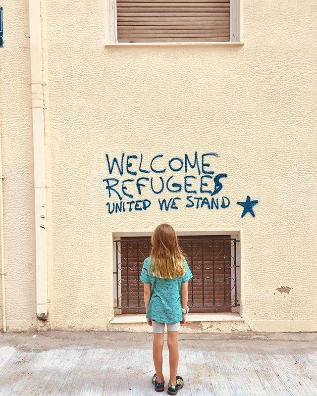 #immigrantswelcome 📷 @lironunreich