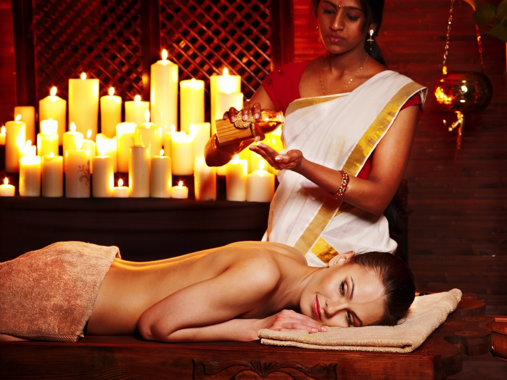 Abhyangam at an award winning Ayurveda Spa, have you tried this warm unctuous massage?