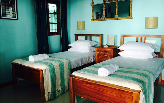A lovely home style accommodation at Cherai Beach.