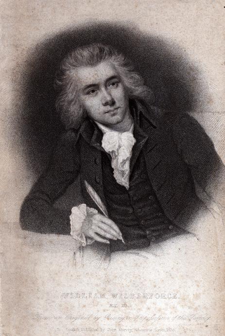 William Wilberforce via wikimedia commons