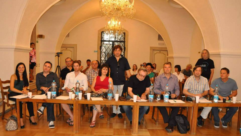 Jury for the International Guitar Competition Brno, Czech Republic. (2013)
