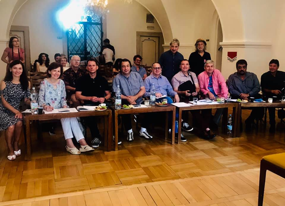 Jury for the International Guitar Competition in Brno, Czech Republic (2019)