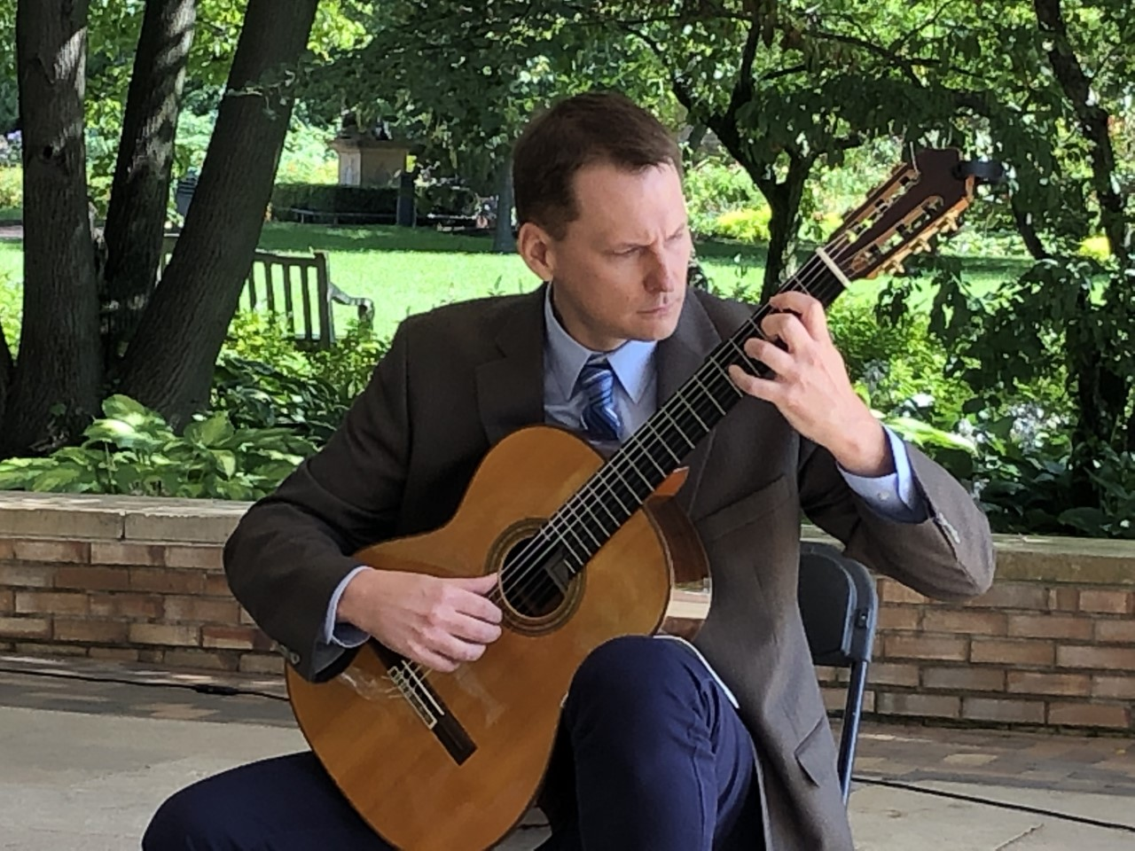 Recital at Chicago Botanic Garden (2019)