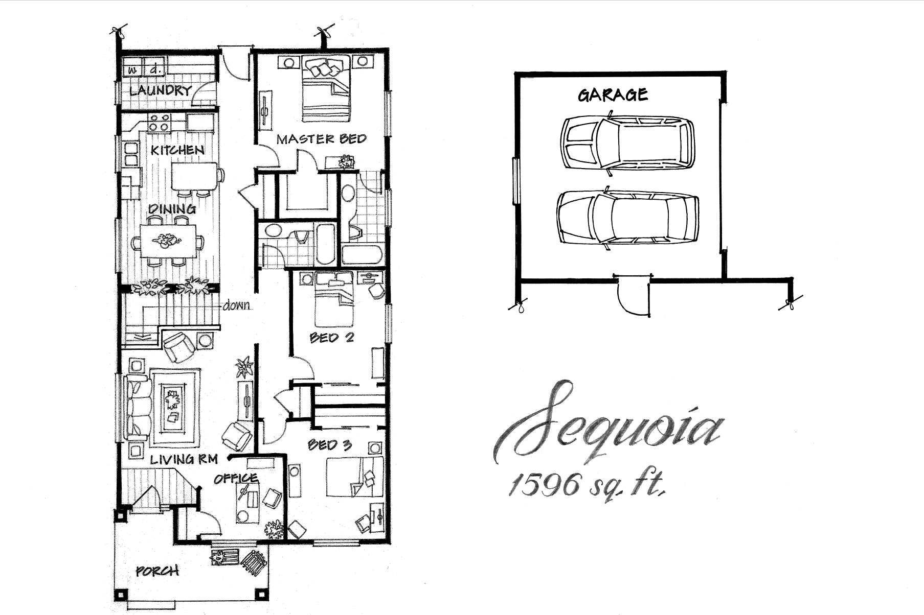 Sequoia 3 Bed / 2 Bath