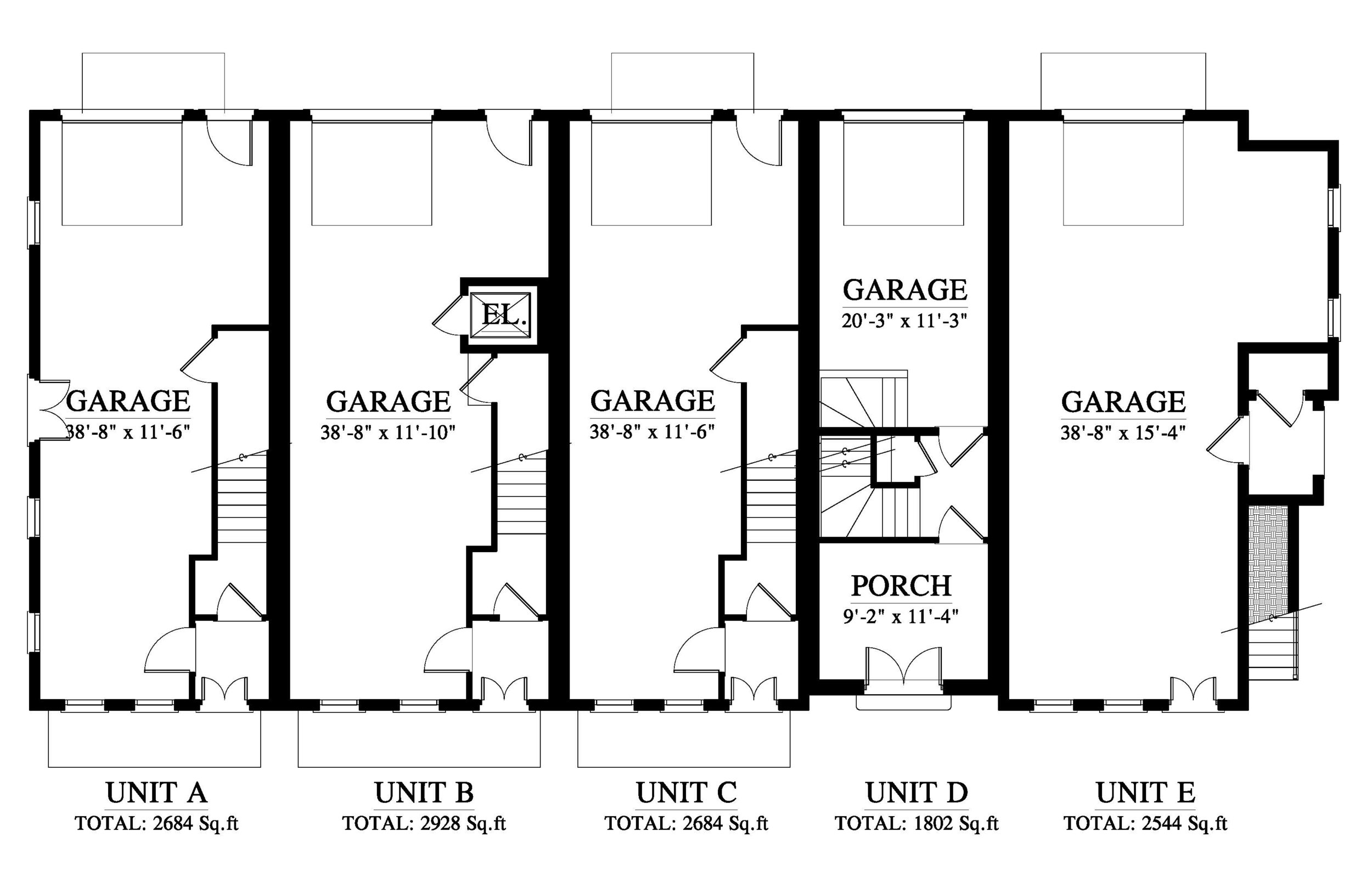 1st Level - Garage