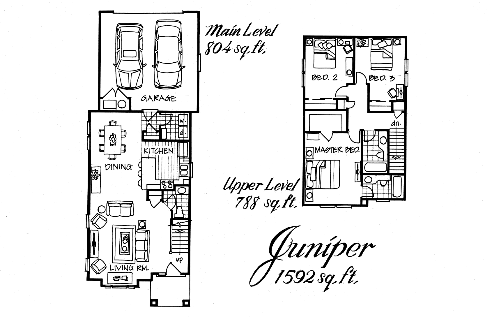 Juniper 3 Bed 2.5 Bath