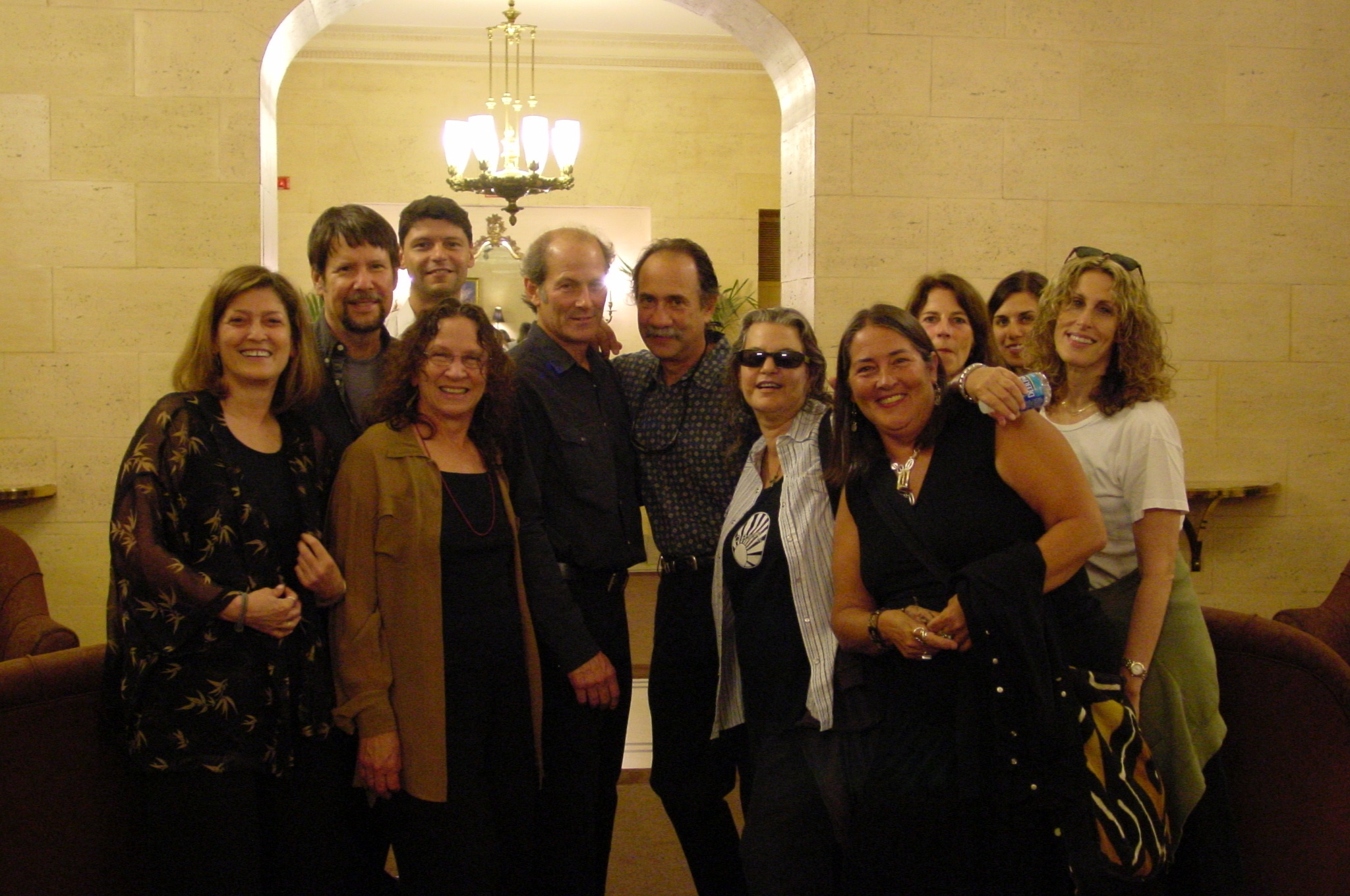 Our gang, going to see Josh Ritter in Boston, 2007