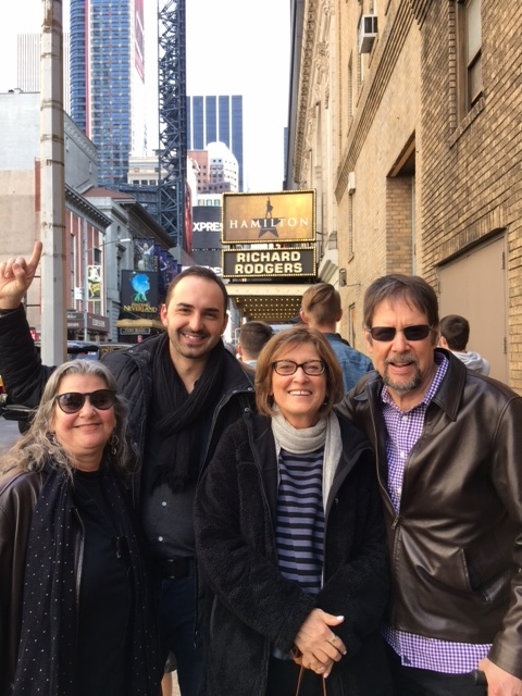 Another trip to Hamilton: with Bobbi and our good friend Boris Andreev