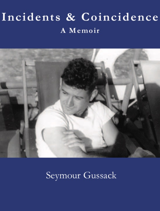 The cover of Gus' memoir