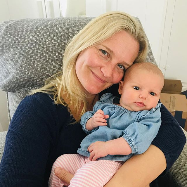 I'm back in the studio after introducing this babe to the world💕 I am now taking privates and subbing some group classes next week. Looking forward to seeing you! #aurapilates #cdm #pilates #newportbeach #postnatalpilates