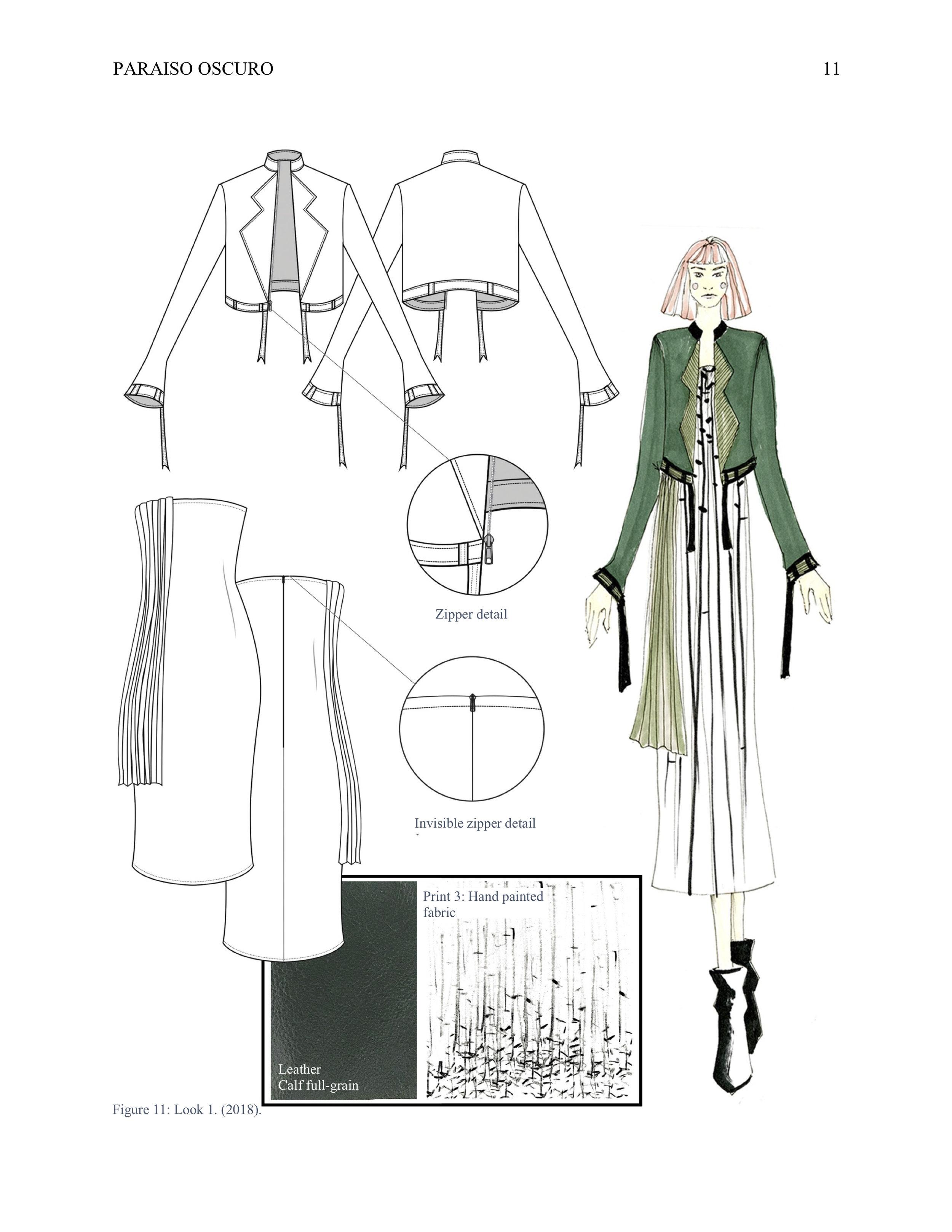 Fashion Design Portfolio Katherine Diaz Villegas