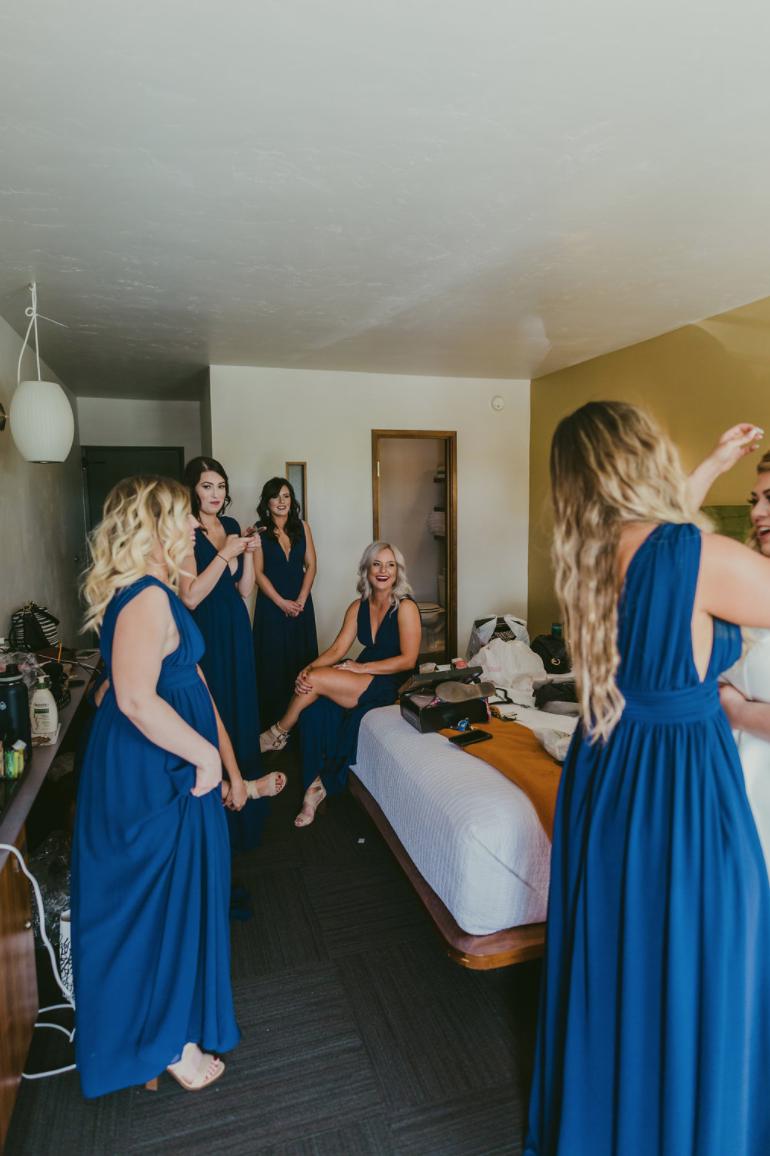 Boise Wedding Modern Hotel