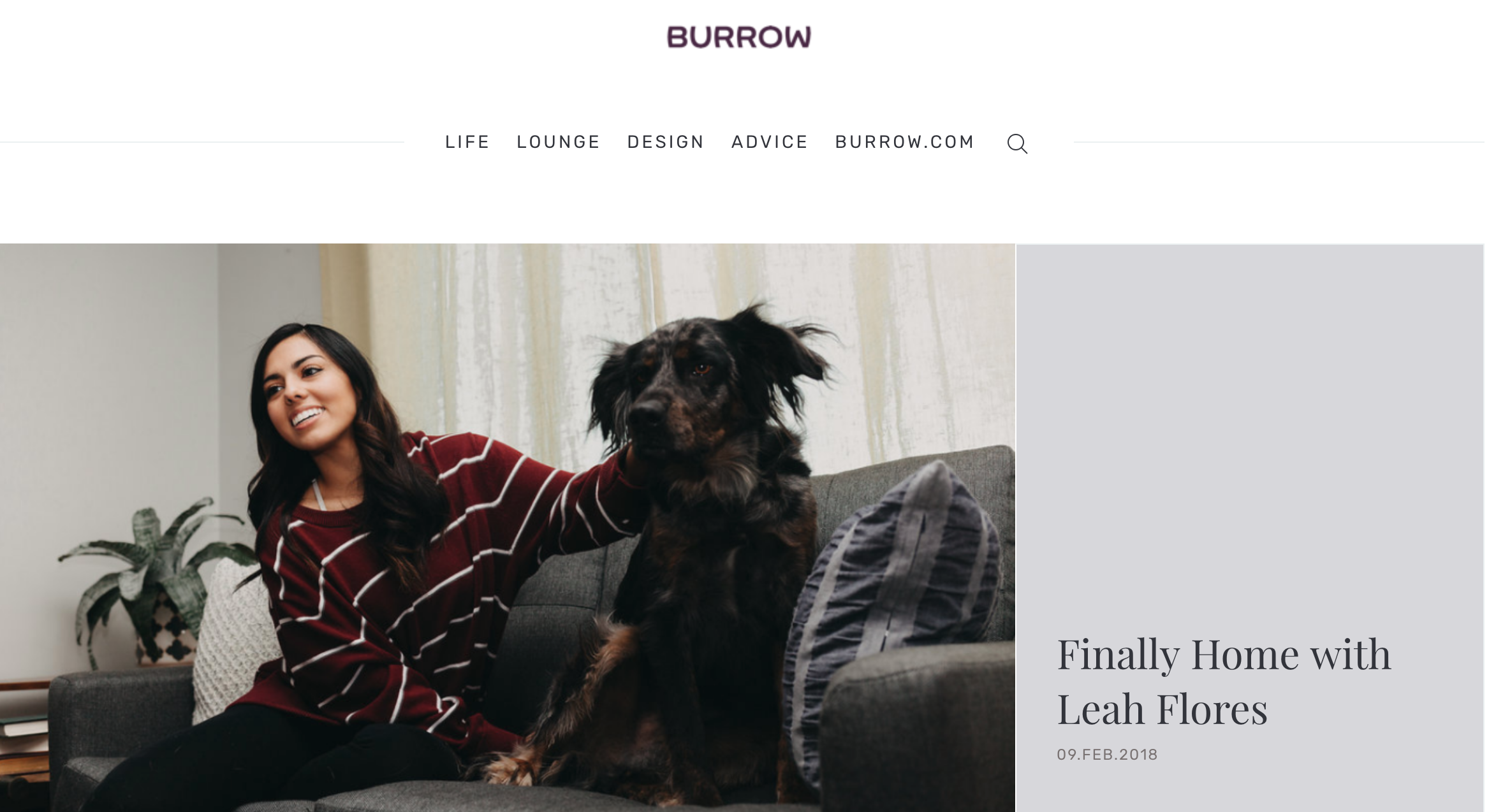 Leah Flores for Burrow