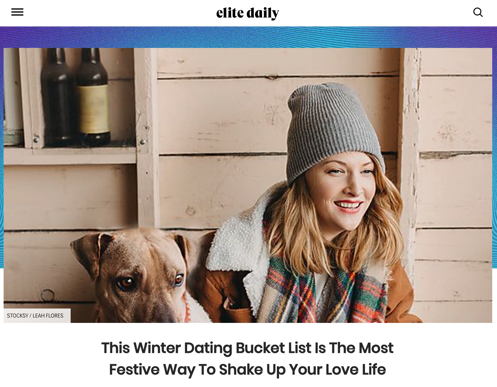 Leah Flores for Elite Daily
