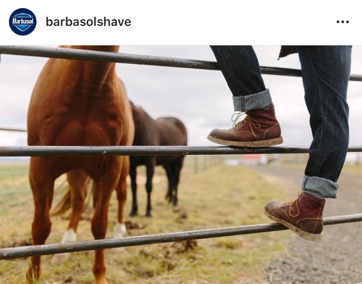 Leah Flores for Barbasol