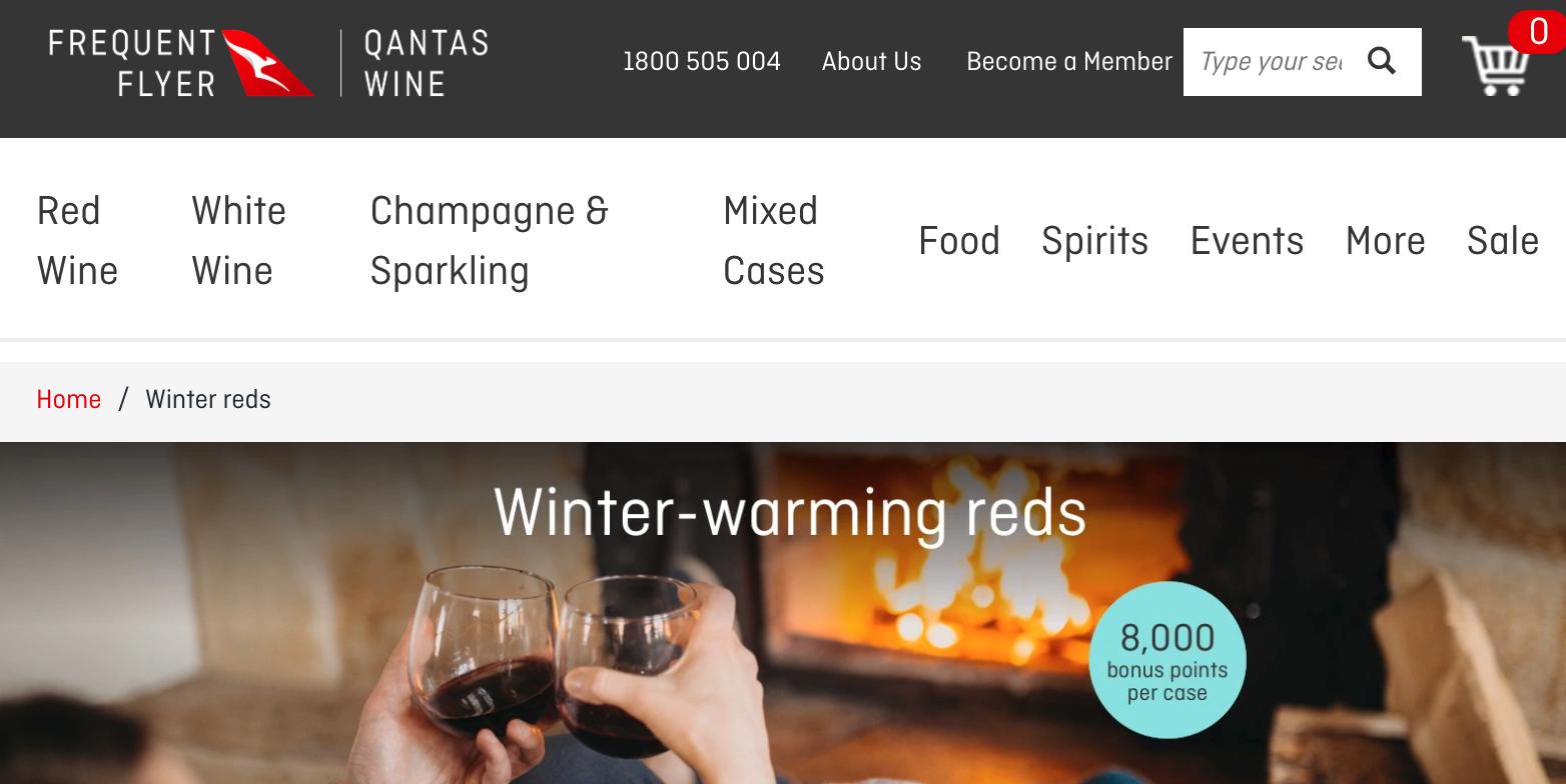 Leah Flores for Qantas Wine