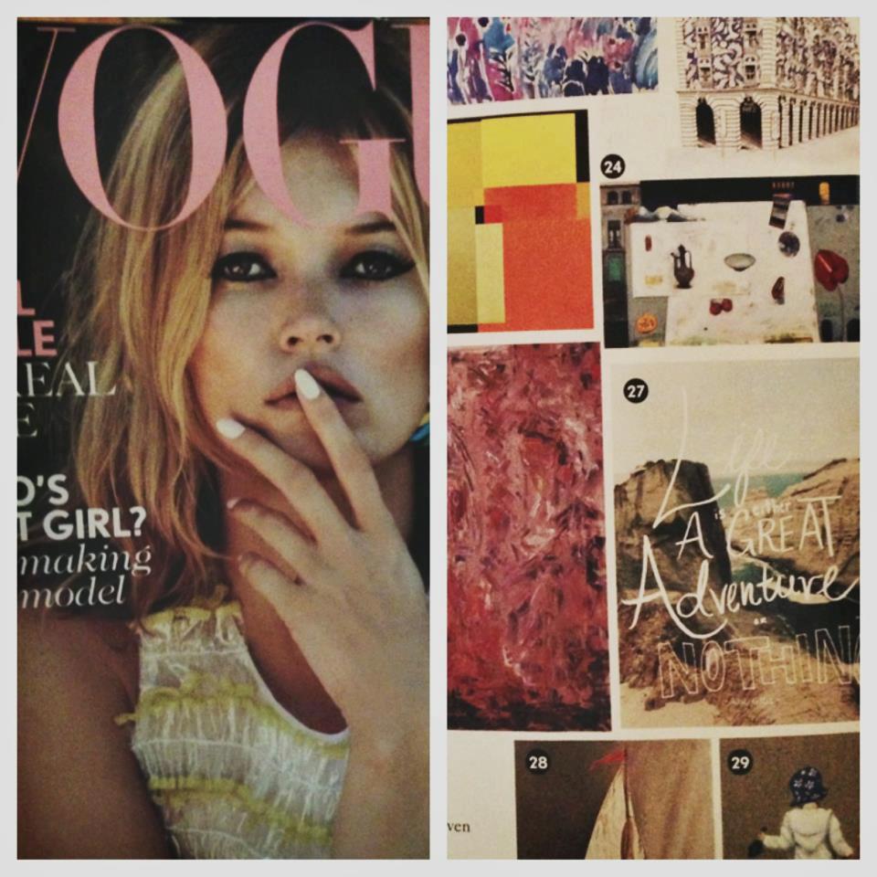 Leah Flores Featured in British Vogue Magazine