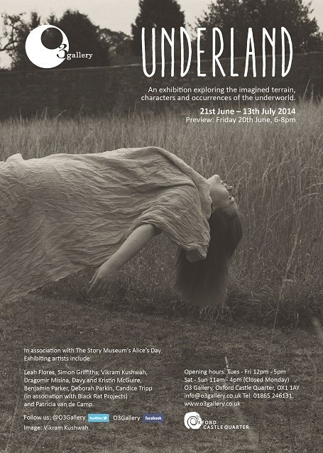 Leah Flores' Artwork Featured in 'Underland' Gallery Exhibition in London