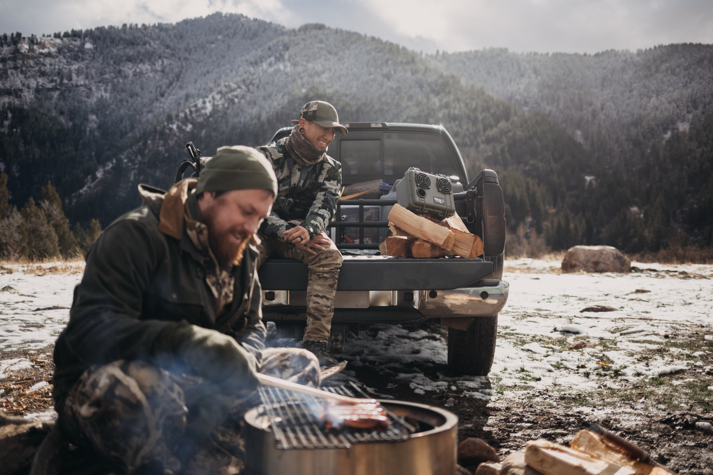 leah flores idaho hunting commercial photography demerbox stereo outdoors