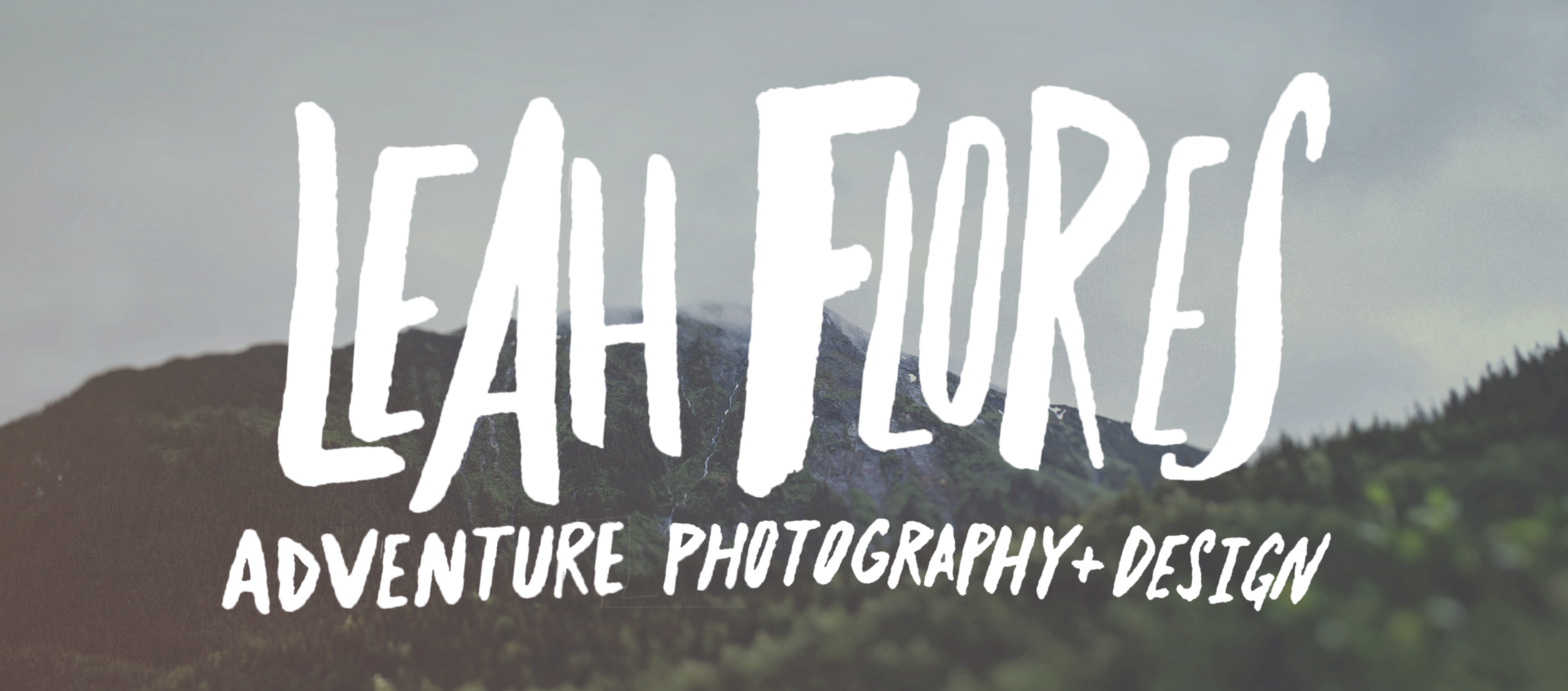 Leah Flores Header Image with logo