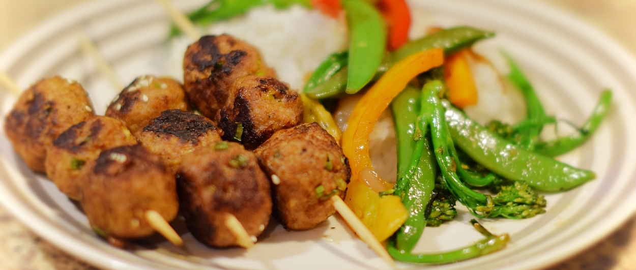 Japanese Meatballs - Prep Time: 30 Minutes Cook Time: 20 MinutesServes: 4-5
