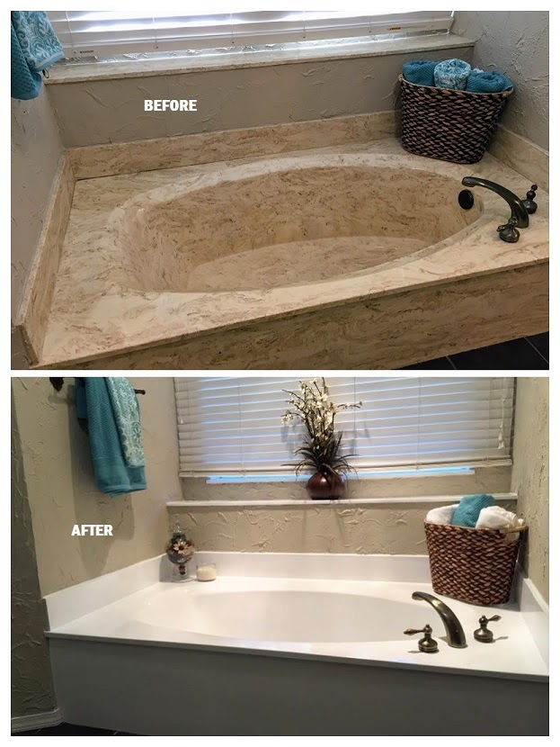 Soaking Tub Resurfacing