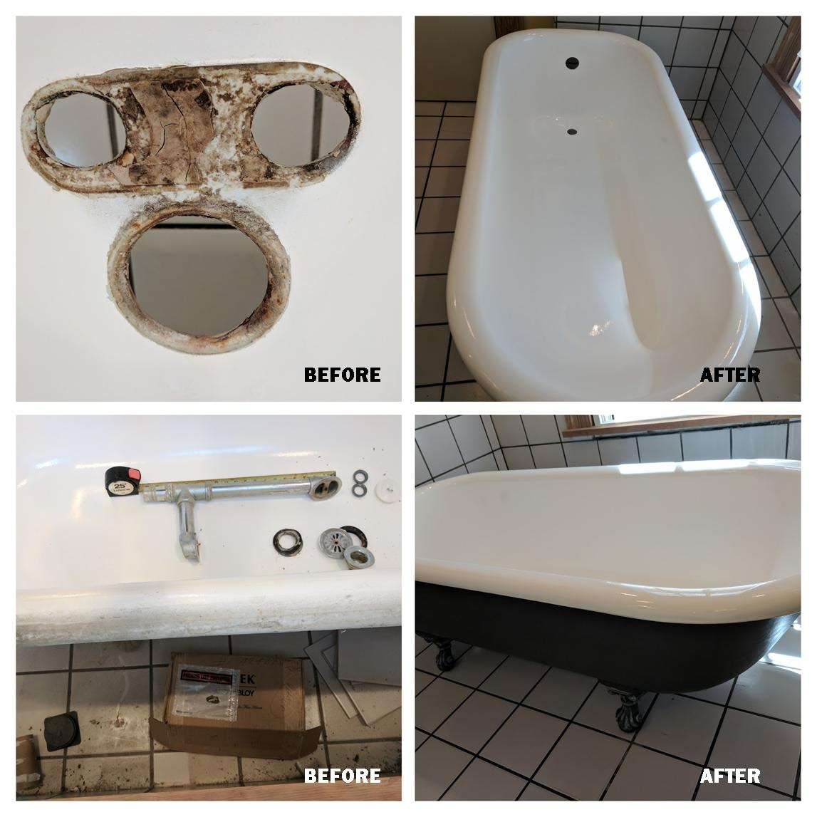Claw Foot Tub Resurfacing