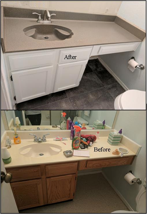 Countertop Resurfacing and Cabinet Painting