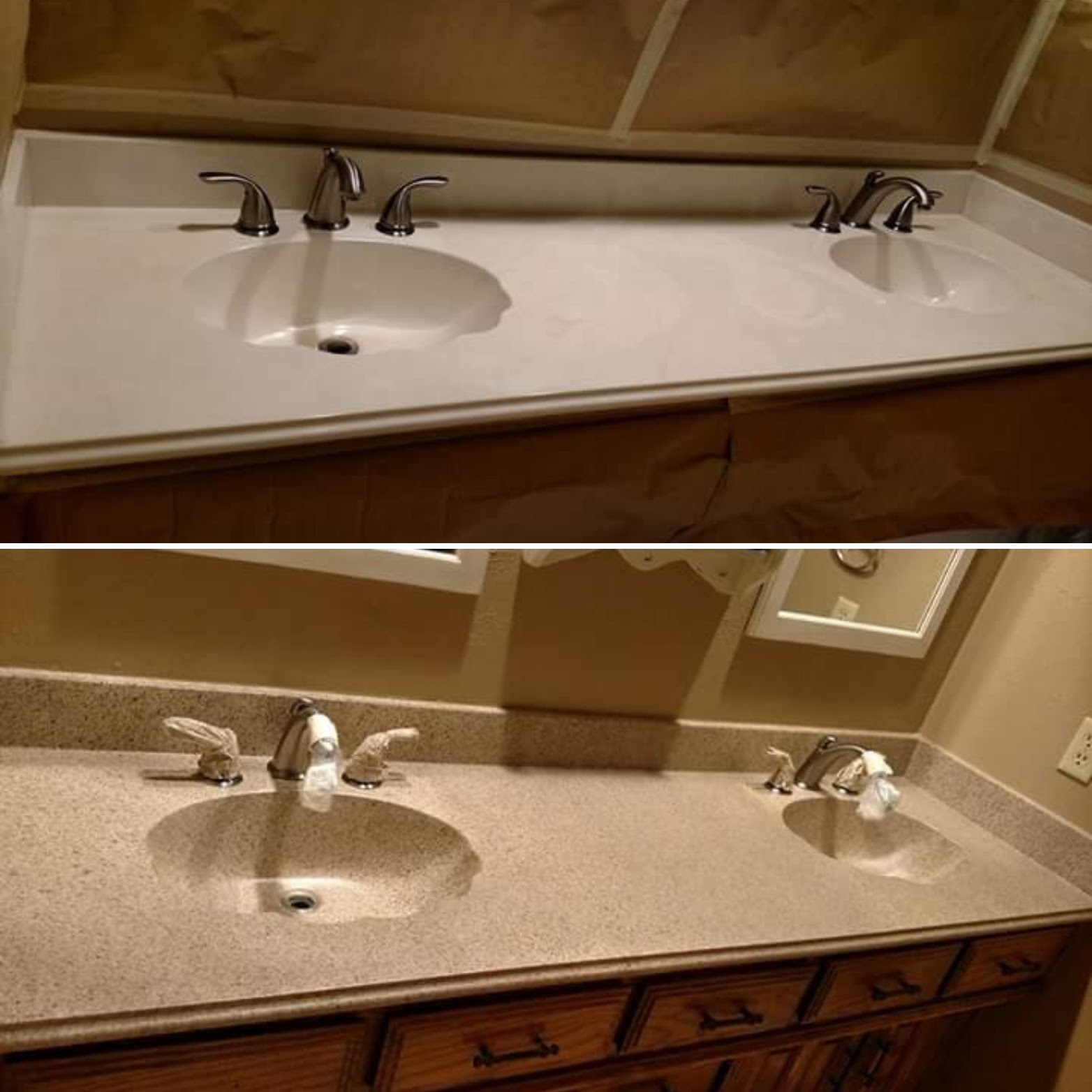 Bathroom Countertop Refinishing