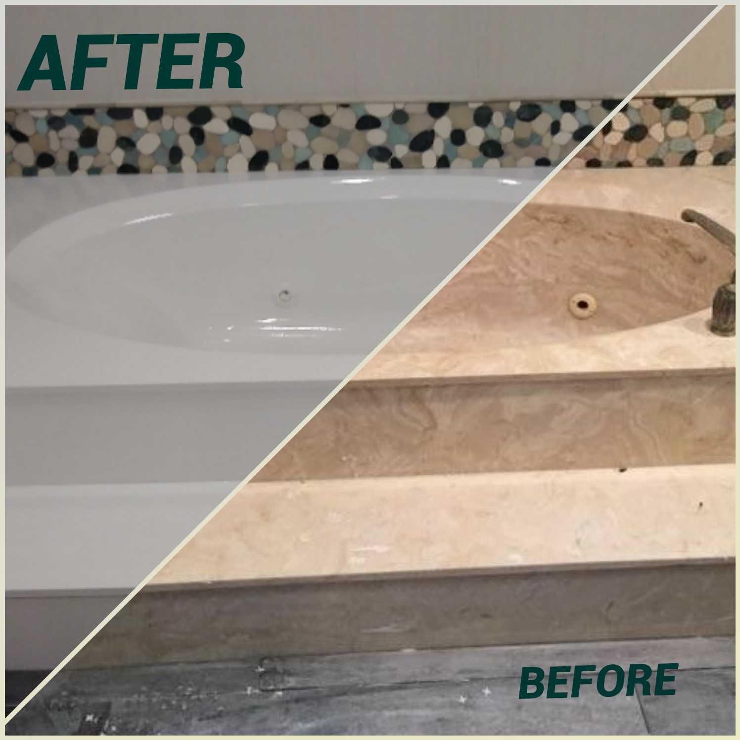 Jacuzzi Tub Refinishing