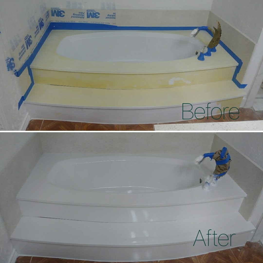 Garden Tub Resurfacing