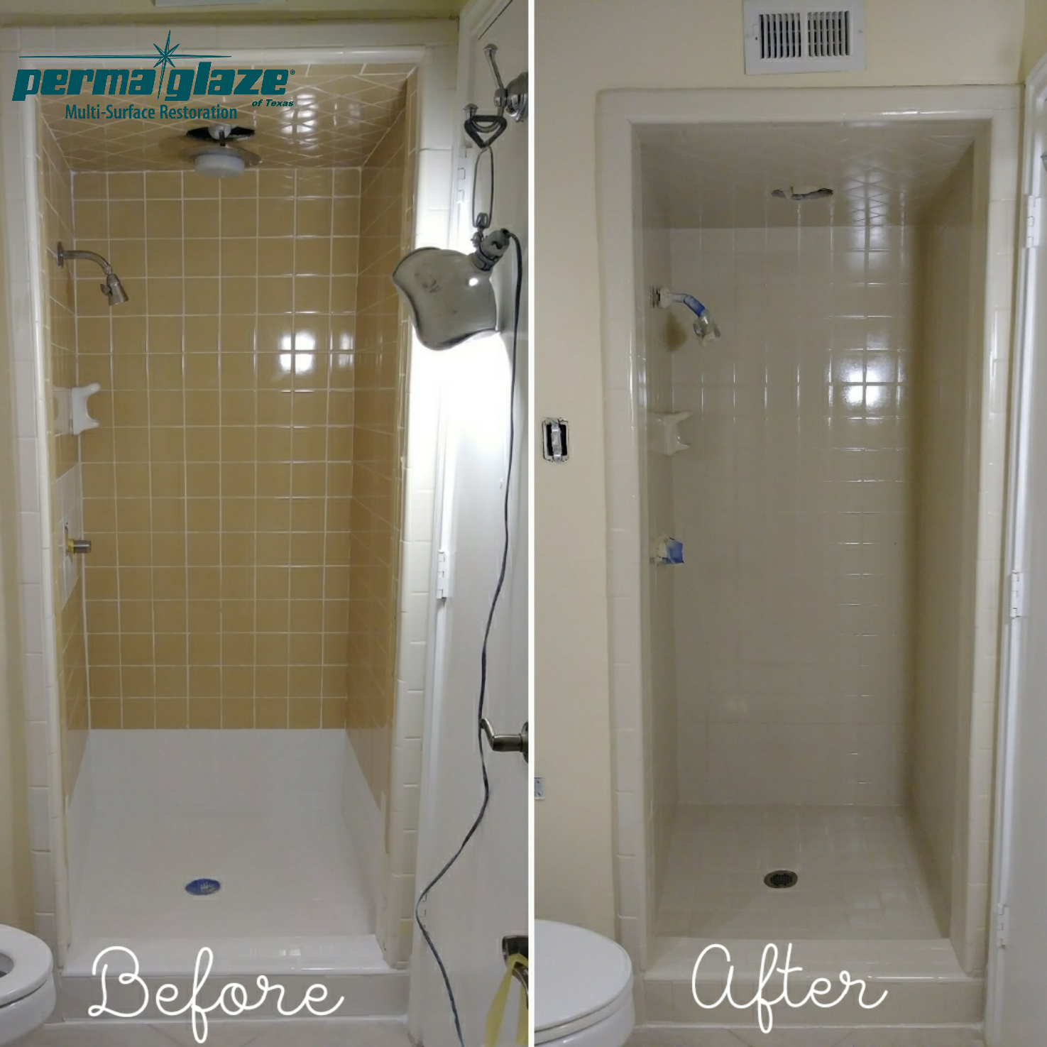 Shower Stall Refinishing