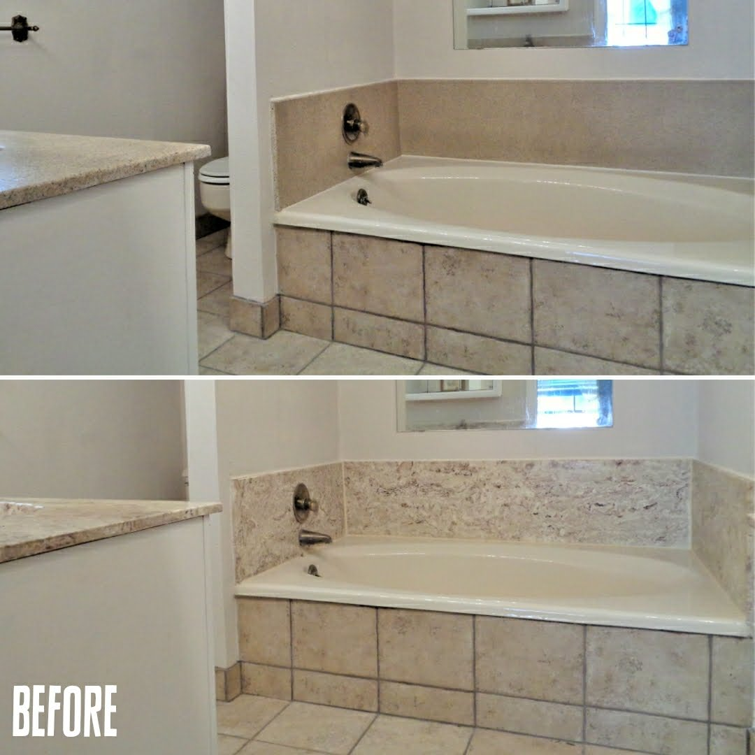Countertop and Bathtub Surround Refinishing