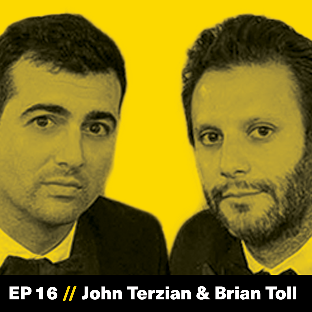 John Terzian, Brian Toll, The h.wood Group, The Founder Hour, Podcast