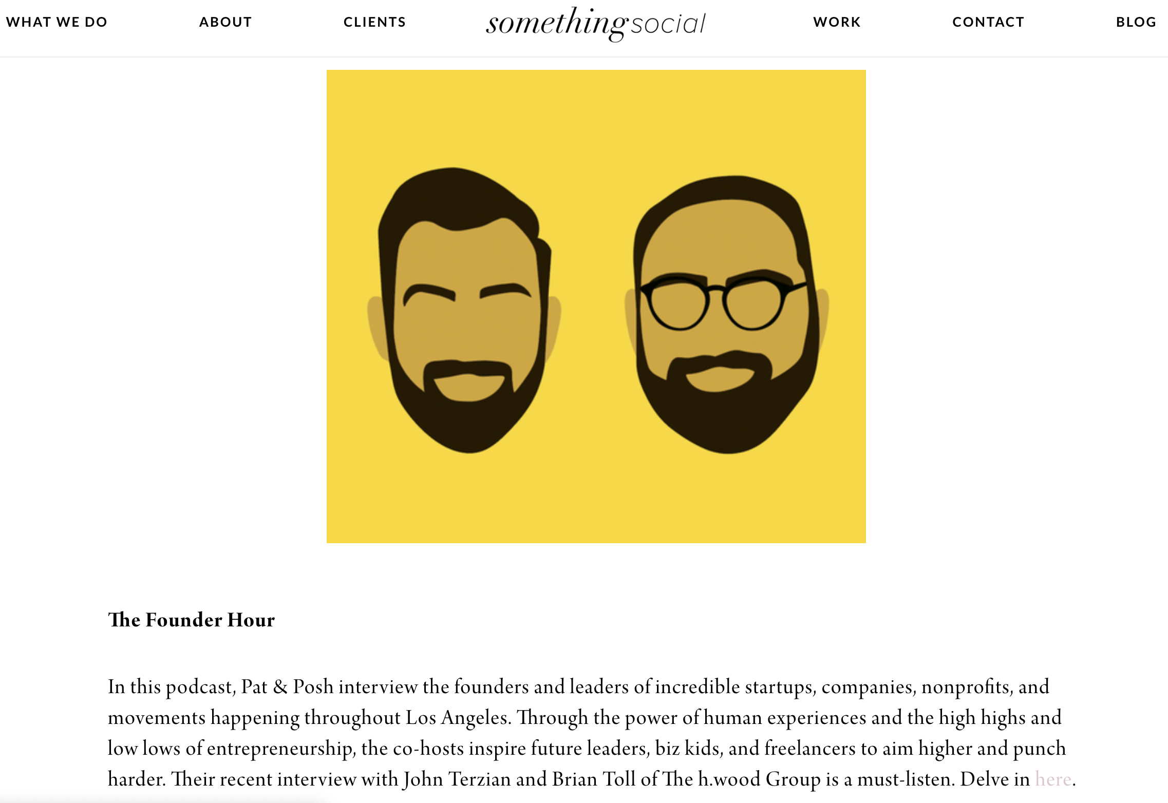 Something Social, The Founder Hour, Top Podcasts