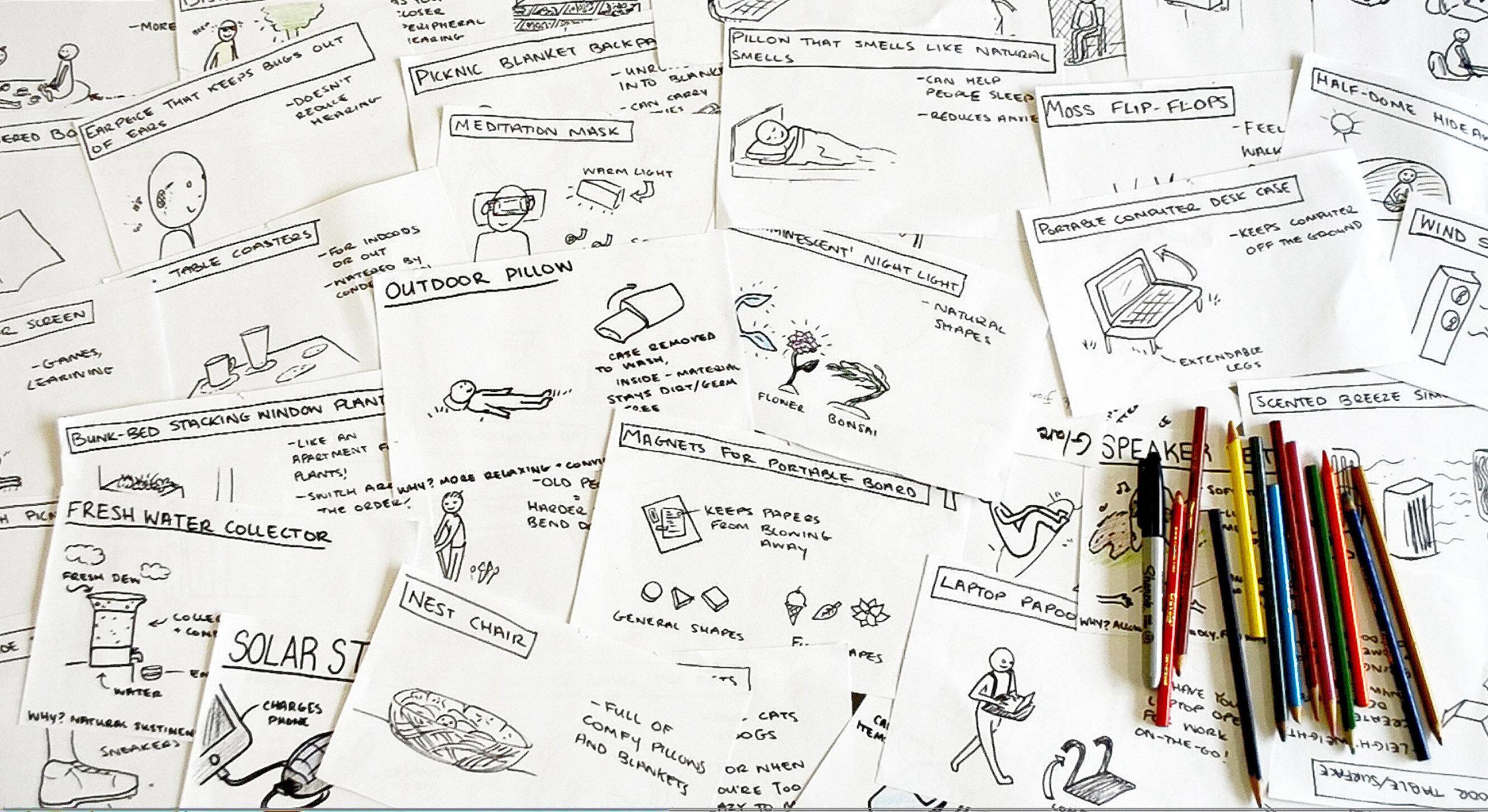 Quick Idea Sketches