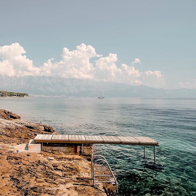 When the web project you're working on brings on some serious wanderlust! ⠀ ⠀ #croatia #villabila #adriaticsea