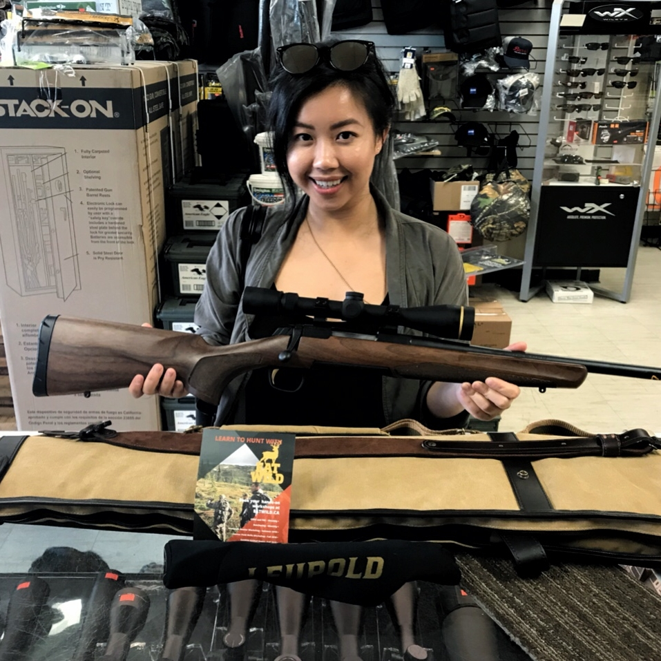 My first hunting rifle: Browning Bolt-action 308 Win