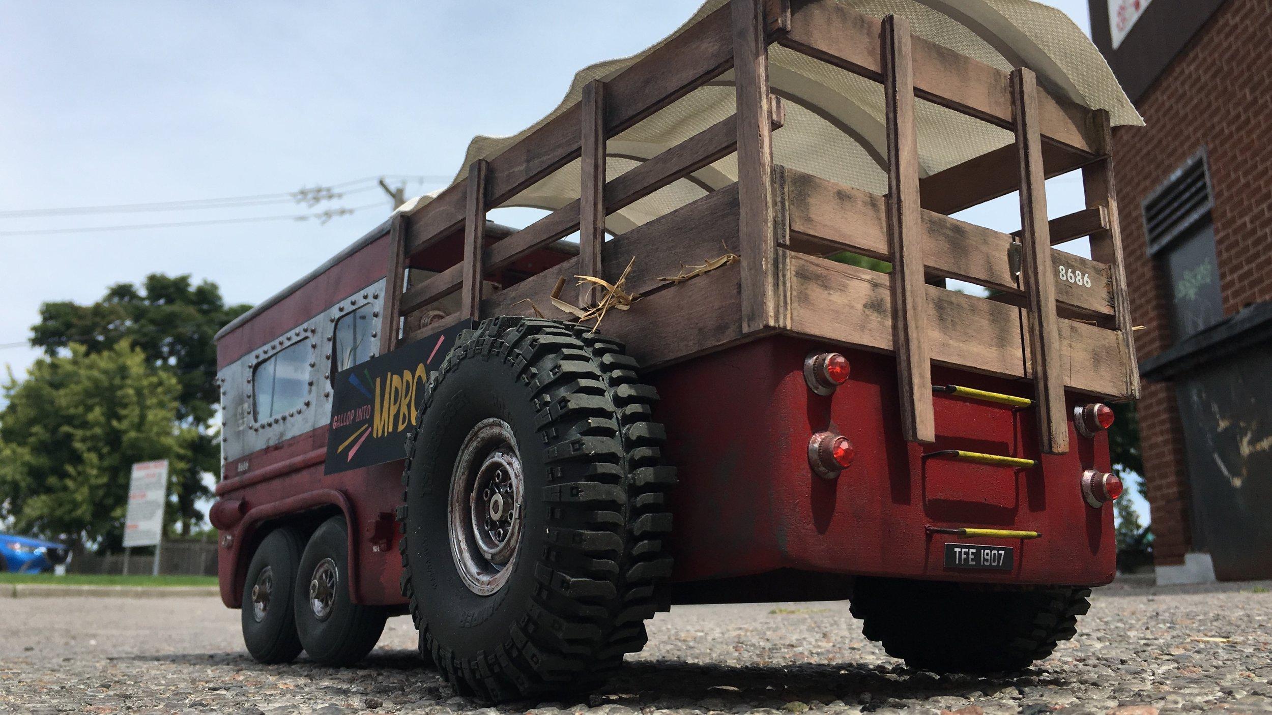 Tractorbus miniature