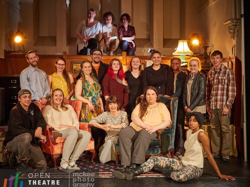 Open Theatre Project after their 2017 run of  The Fear Project .