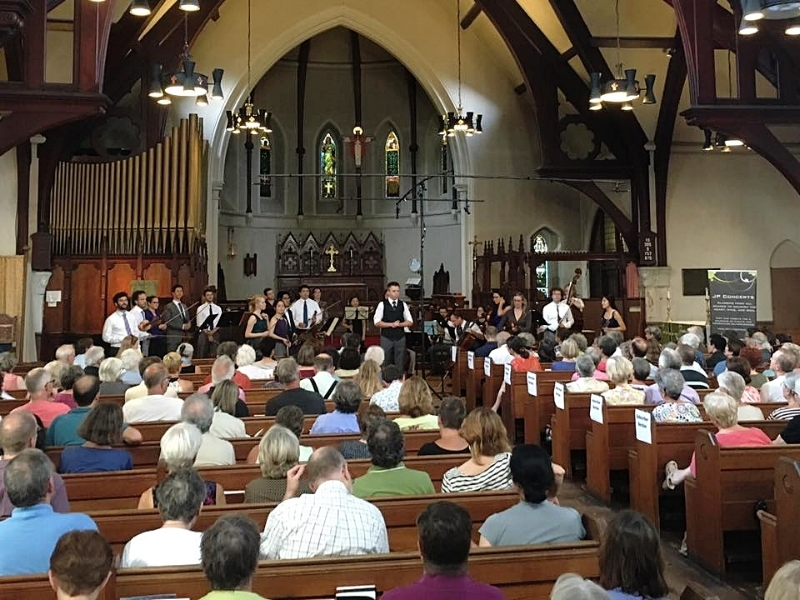 JP Concerts featuring A Far Cry in St. John's Sanctuary