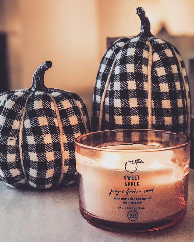 Fall season is here! 🍂 For the month of September I decided to pick a neutral pallet. Using lots of checkered patterns and black and white accents. ✨• • • #homedecor #modernfarmhouse #modernfarmhousestyle #targetdecor #checkered #blackandwhitedecor #falldecor  #falldecorating