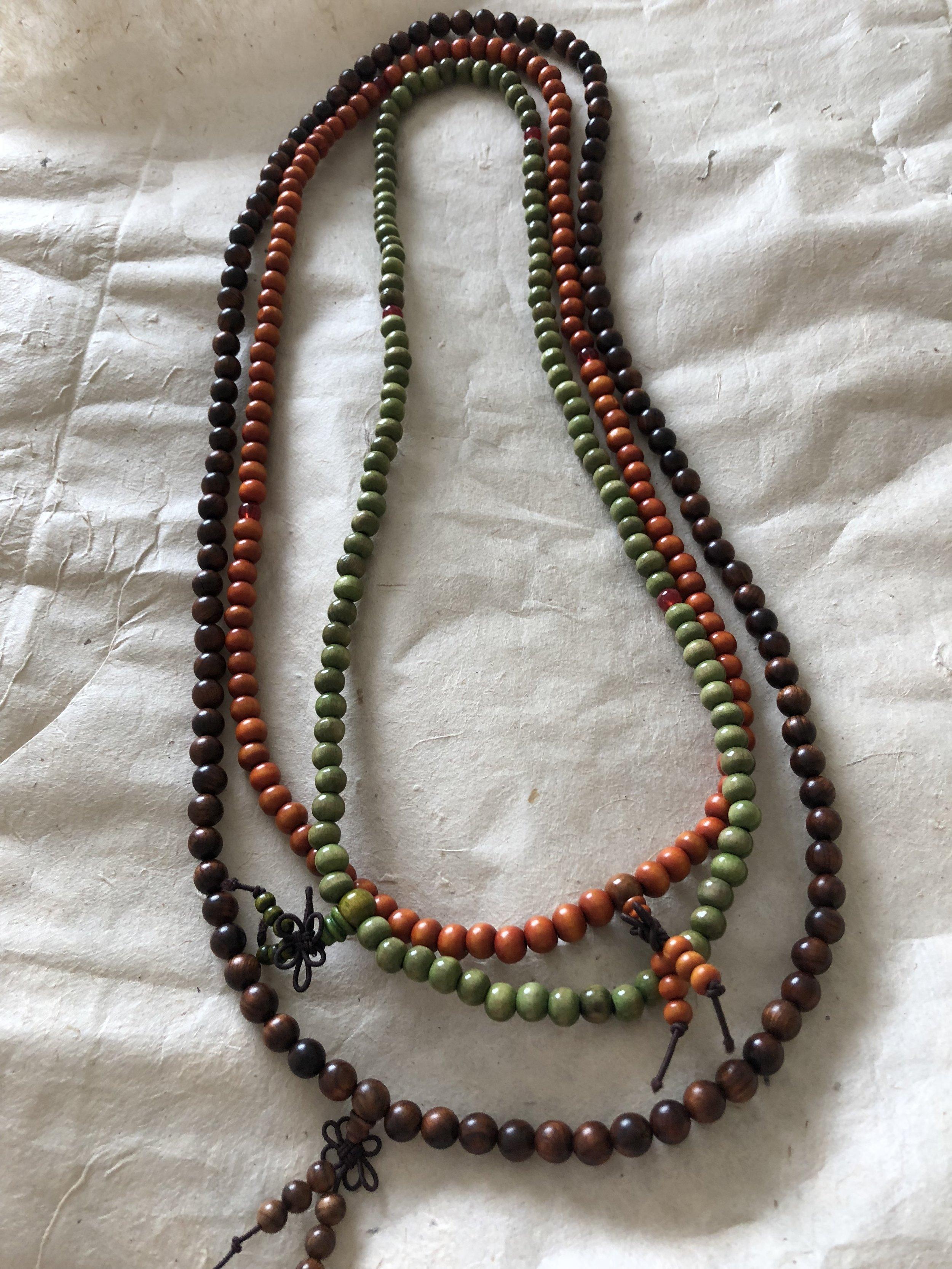 Wood Mala Prayer Beads
