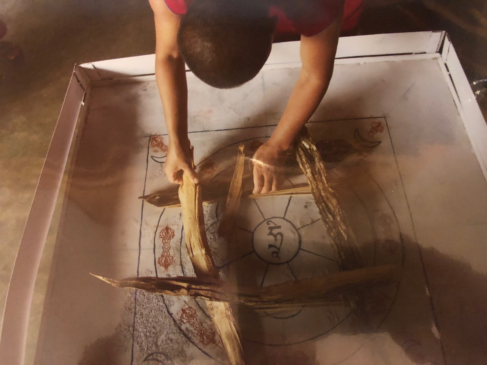 Yannick-Fire Puja Preparation.jpg