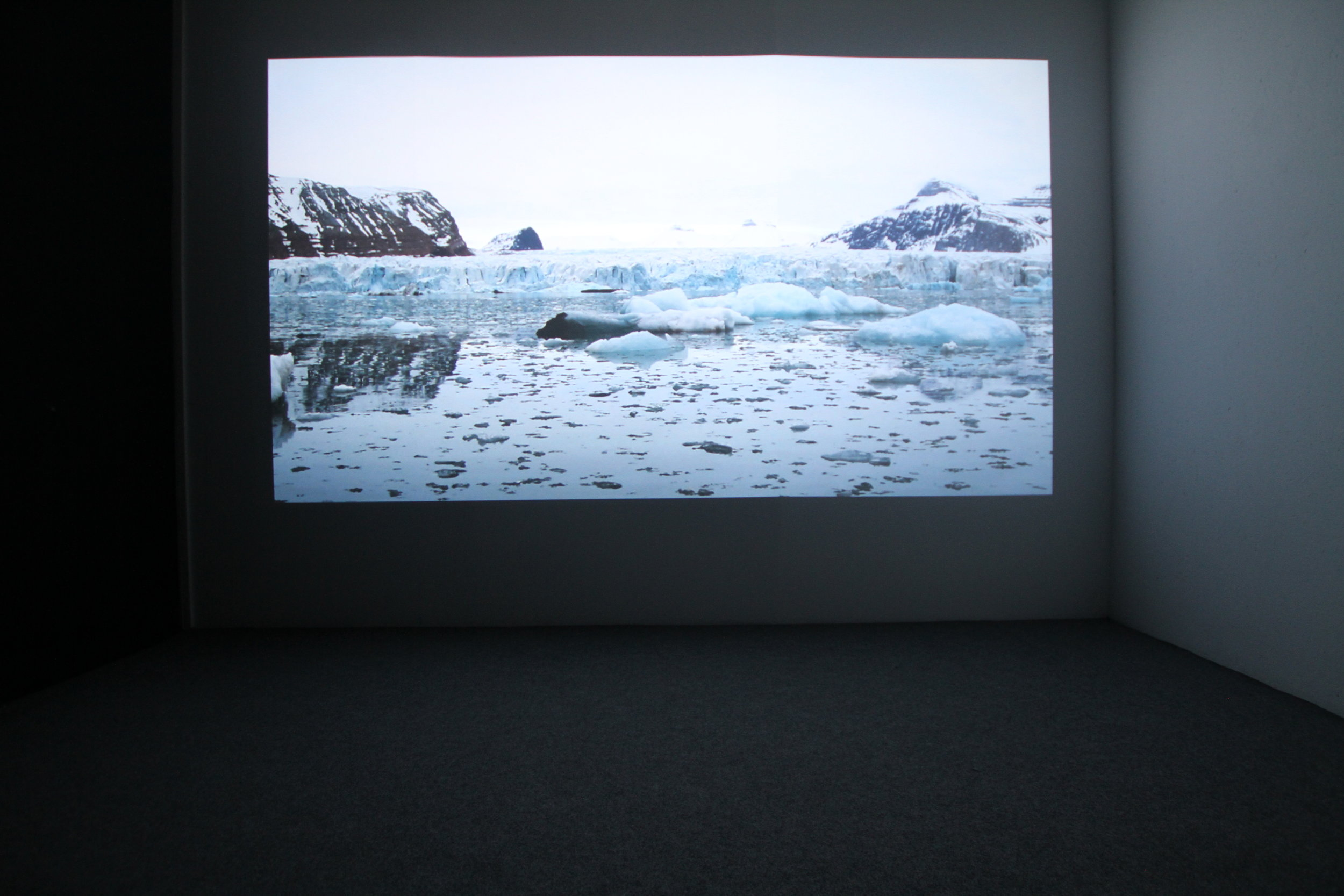 Emilija Skarnulyte,  No Place Rising.  Installation view.