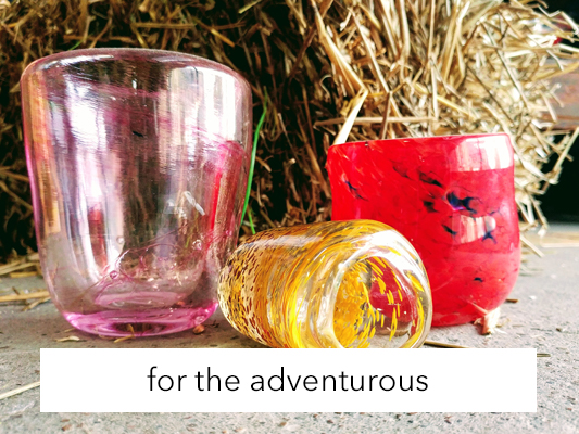 Molten glass: So you can get your fire fix and create a colorful gift