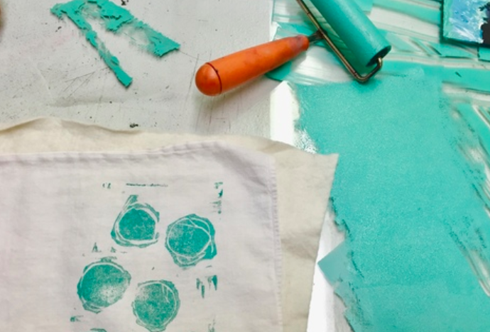 Something for the beer & craft enthusiast:  Block Printing &Beer