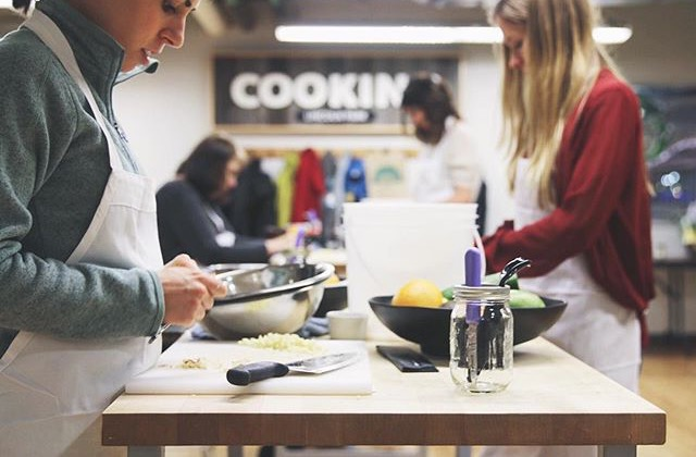 Whole Foods Cooking Classroom in Lincoln Park is your one-stop shop for at-home cooking skills
