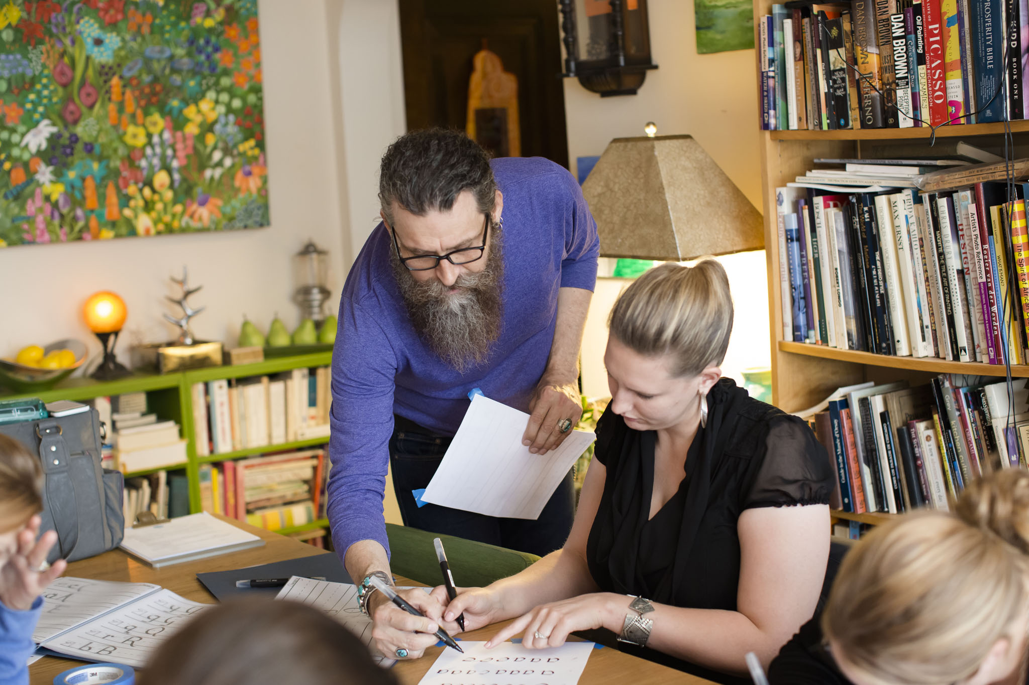 Over 4,000 people have taken calligraphy and lettering classes on Dabble since 2011.